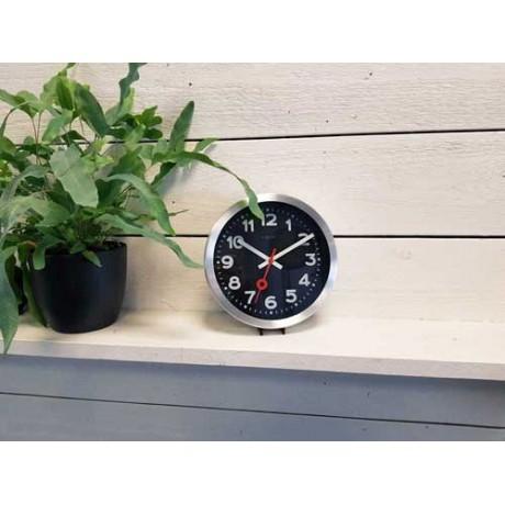 """Часы настенные """"Station Number"""" черные  Ø19 см"""