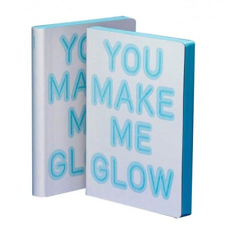 Блокнот You make me glow, серии Graphic
