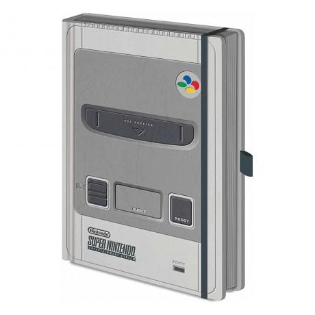 Блокнот A5 Nintendo (SNES)