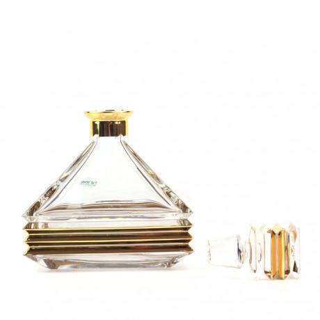 "Набор для виски Same ""Stуlе"" (1 графин, 2 стакана) в коробе, золото"