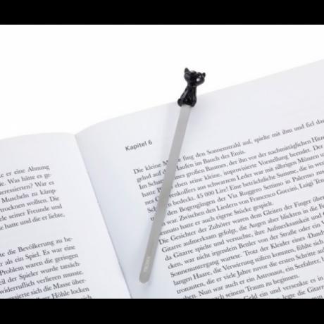 Закладка книжная Troika, черная