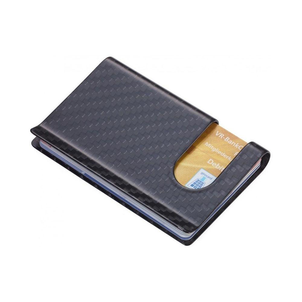 Кредитница Troika из карбона на 10 карт