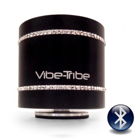 """Виброколонка Vibe-Tribe """"Troll 2.0 SWAROVSKI"""" 12 Вт, черная"""