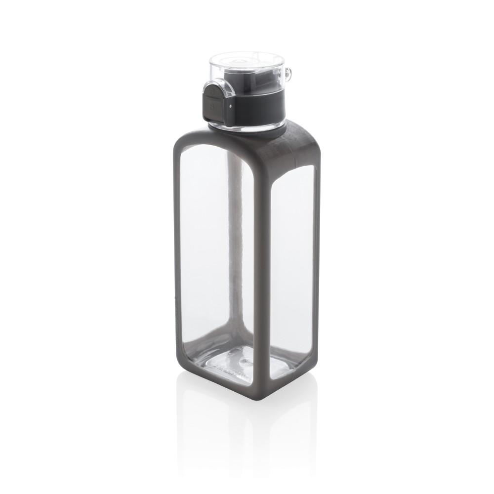 Квадратная вакуумная бутылка для воды 600мл, белая