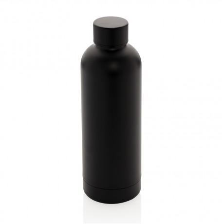 """Термобутылка с двойными стенками из нержавеющей стали """"Impact"""", черная"""